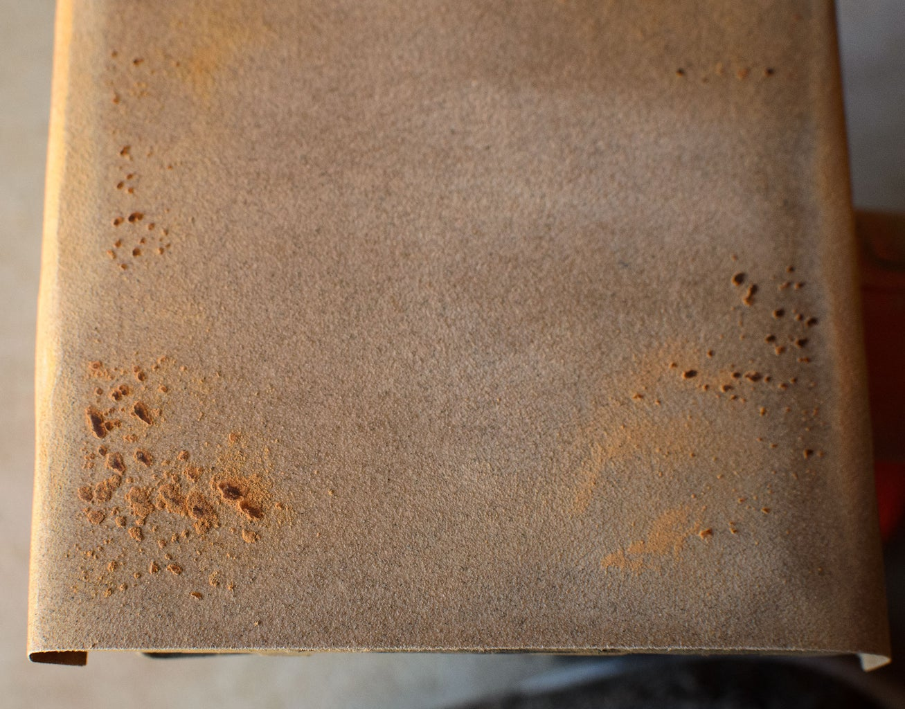 Tip 2: on Prolonging Sand Paper Life