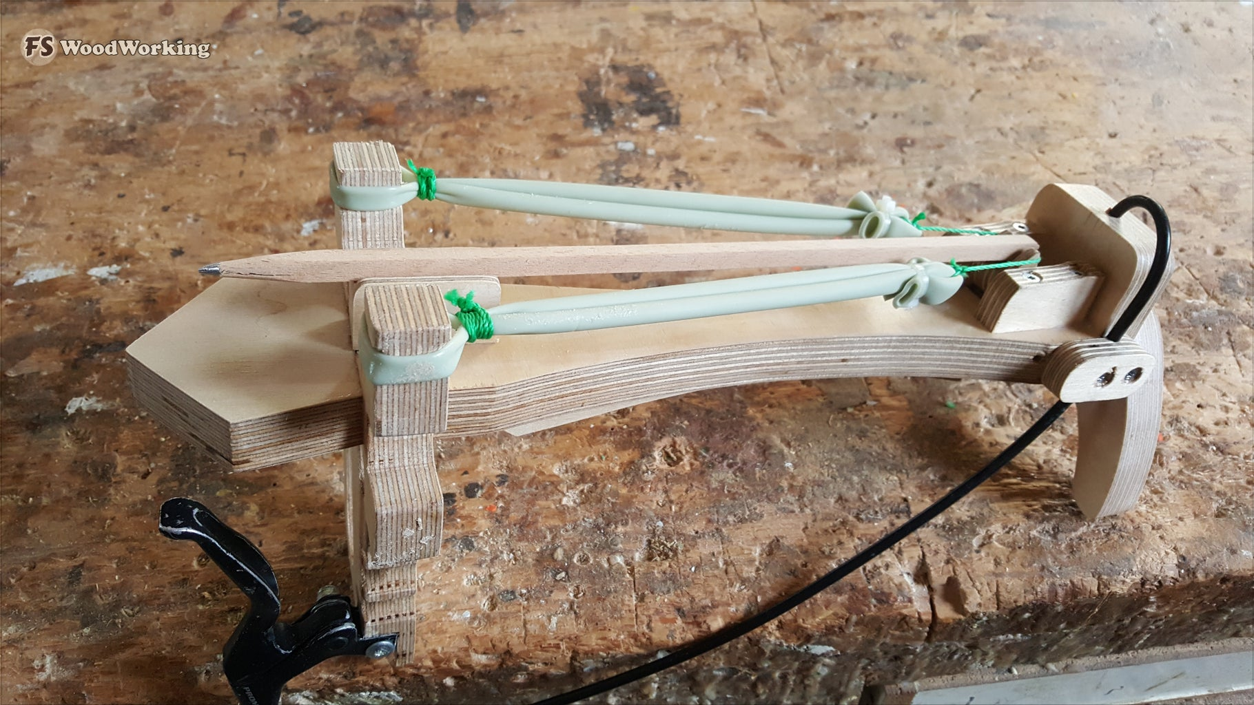 DIY SlingBow From Plywood