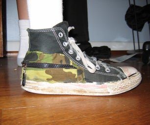 The Camoflage Converse Cash Caddy