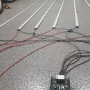 Powerful LED Strips 6x100W Lighting With POWER SHIELD 6+6 T800 and Arduino