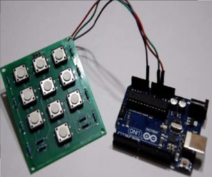 Creating a Resistor Based Keypad & Interface With Arduino!