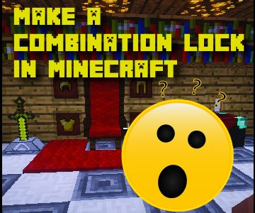 Combination Lock in Vanilla Minecraft
