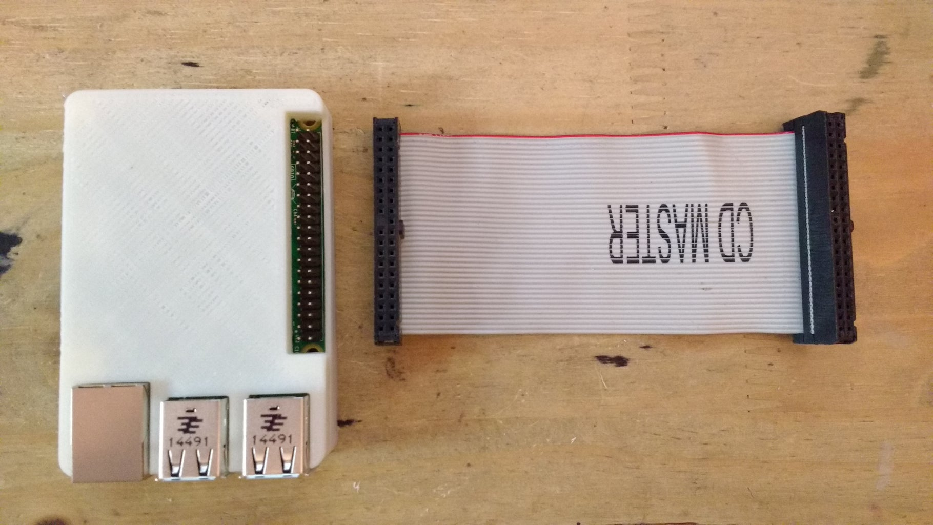 Se Conecta El Cable Al Raspberry Pi