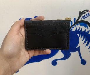 拉链皮卡钱包(免费图案)