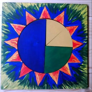 Sun Puzzle to Learn Fractions