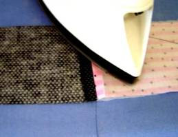 Press Seam and Turn RS Out