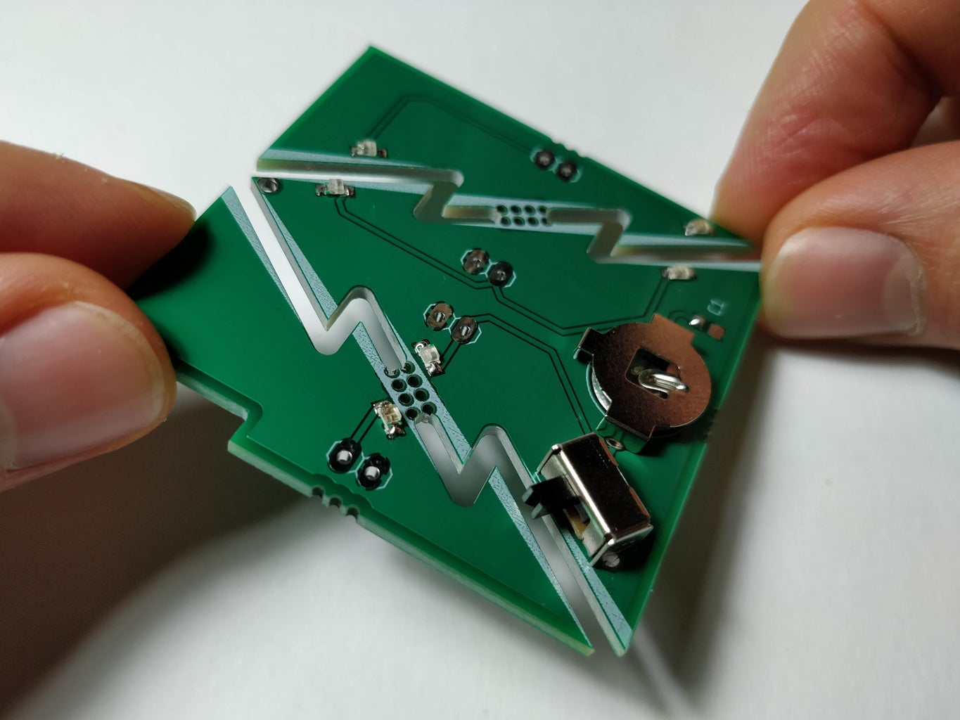 Soldering the PCB