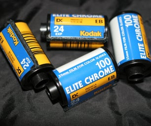 Develop Slide Film With C-41 Chemicals AKA E-6(-)