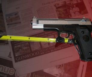 Gun SnorriCam for 2$ (Seen in District 9)