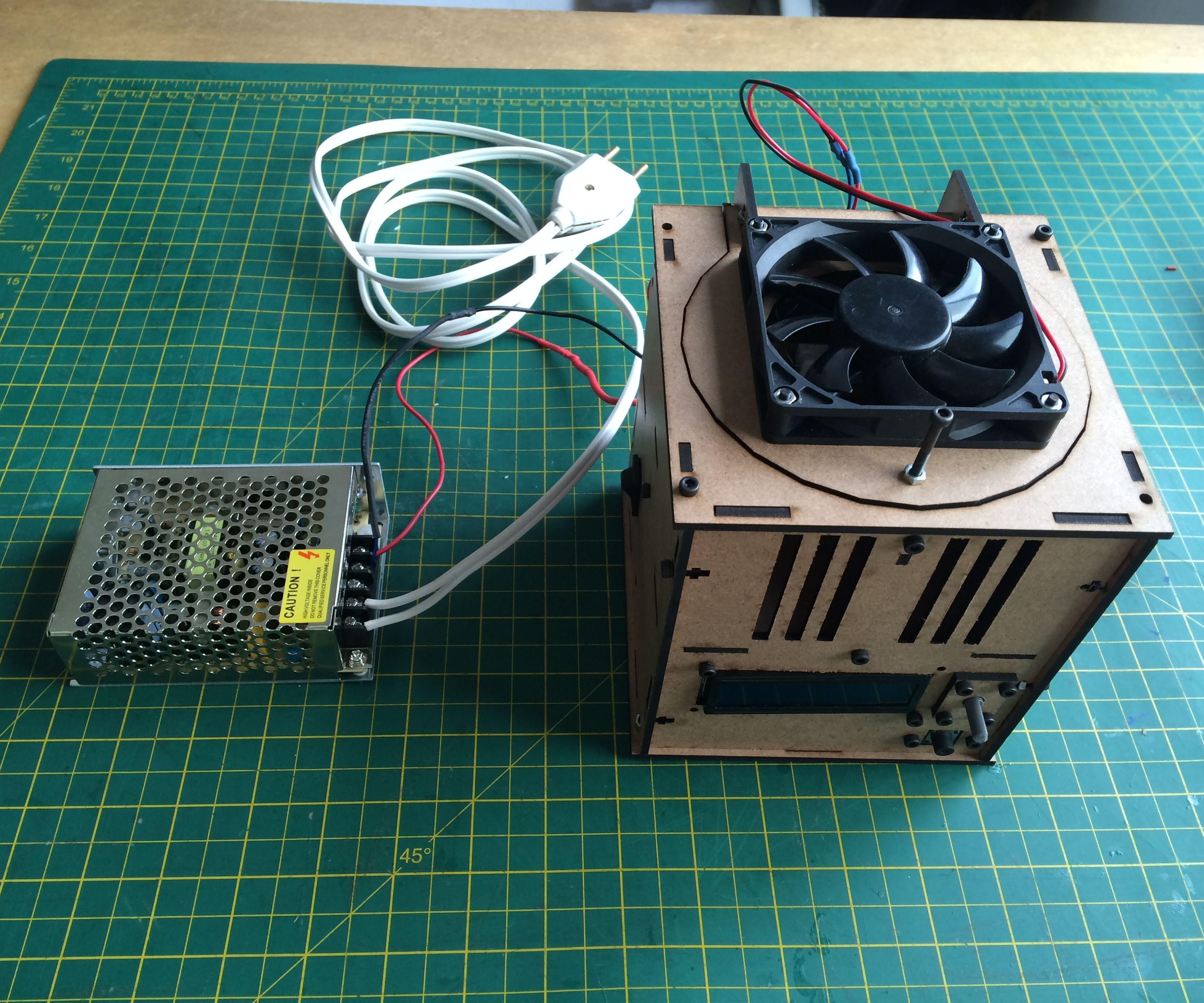 Termociclador - Garagem FABLAB - Biohackacademy