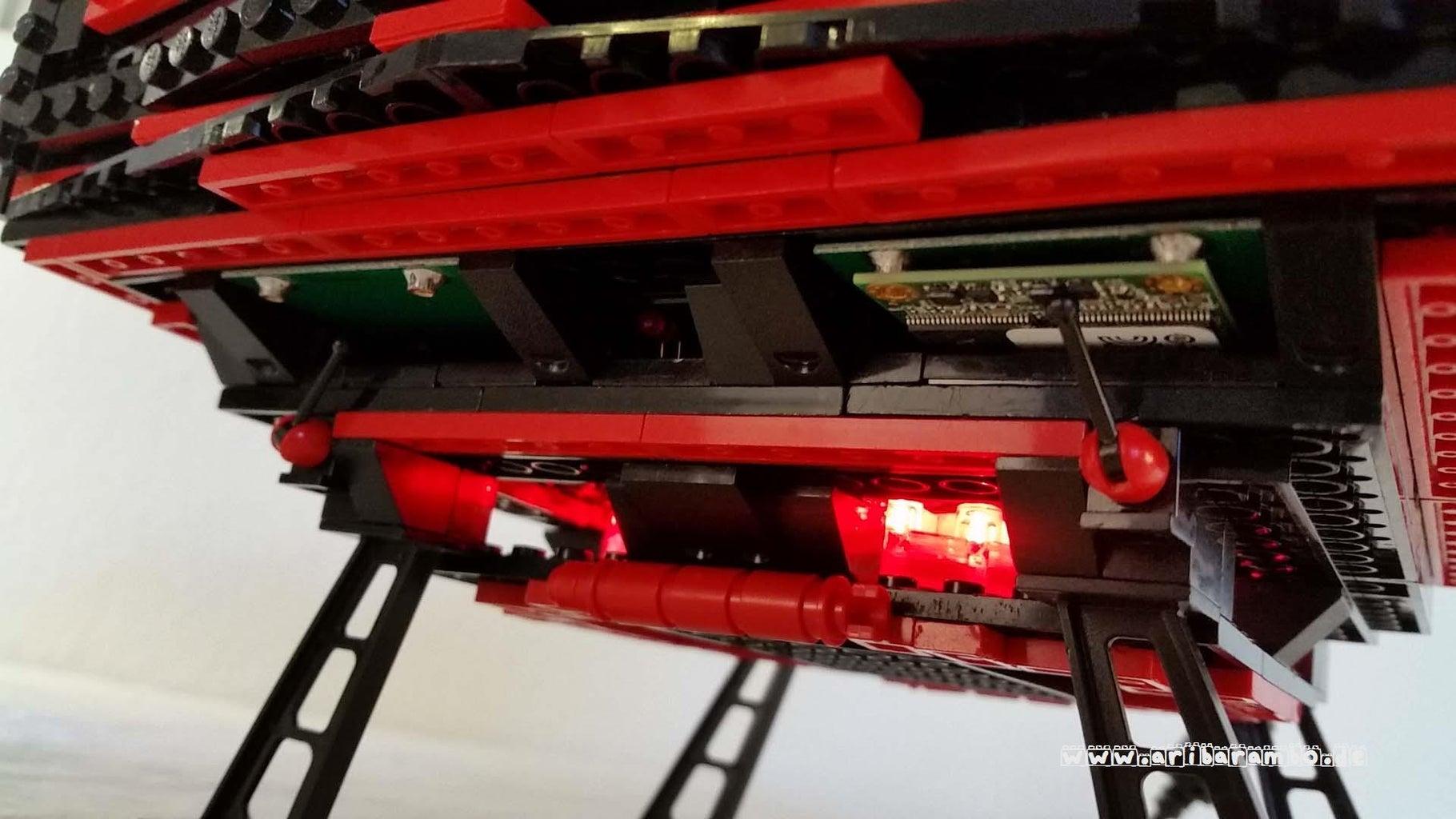 LEGO Mod - a LEGO PC/Computer/Casemod