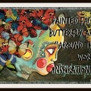 """Painted Face, Butterfly Art """"Around the World Inspirations"""""""