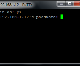 Use ssh to talk with your Raspberry Pi.