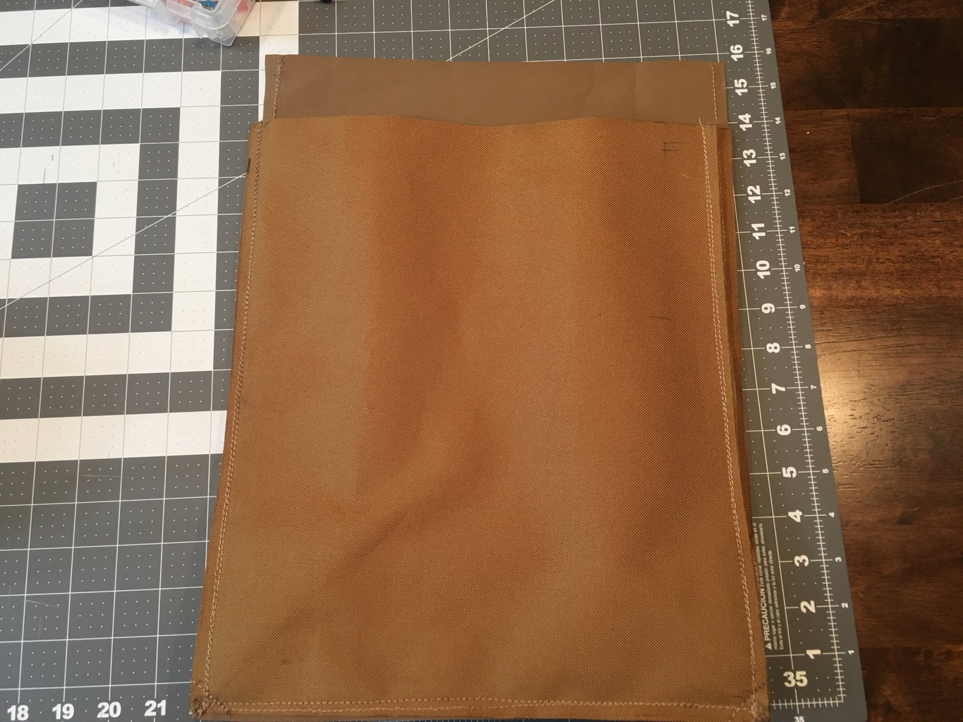 Sewing the Bottom to the Sides: