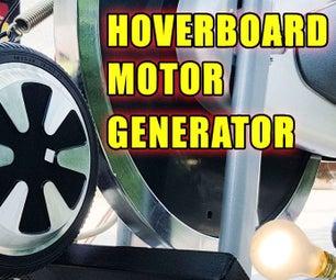 Broken Hoverboard to Free Electricity Generator