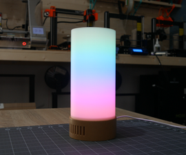 3D Printed LED Mood Lamp