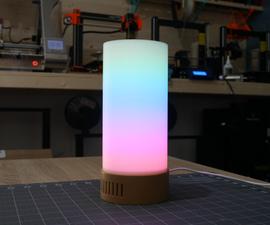 3D Printed LED Mood Lamp