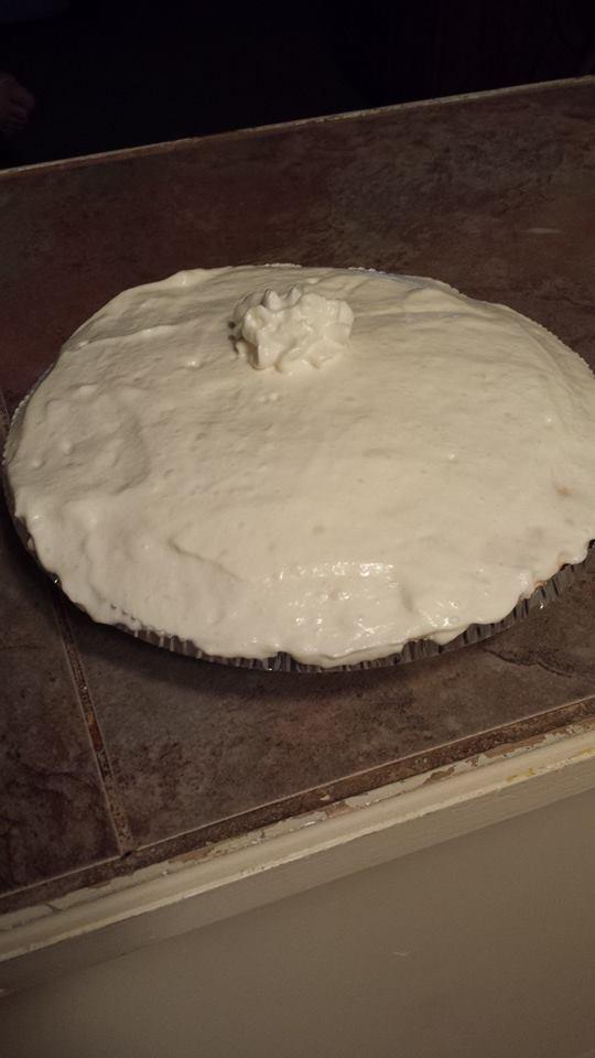 Pumpkin Imposible Pie