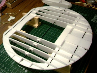 Assembing the Disc Part of the Airframe
