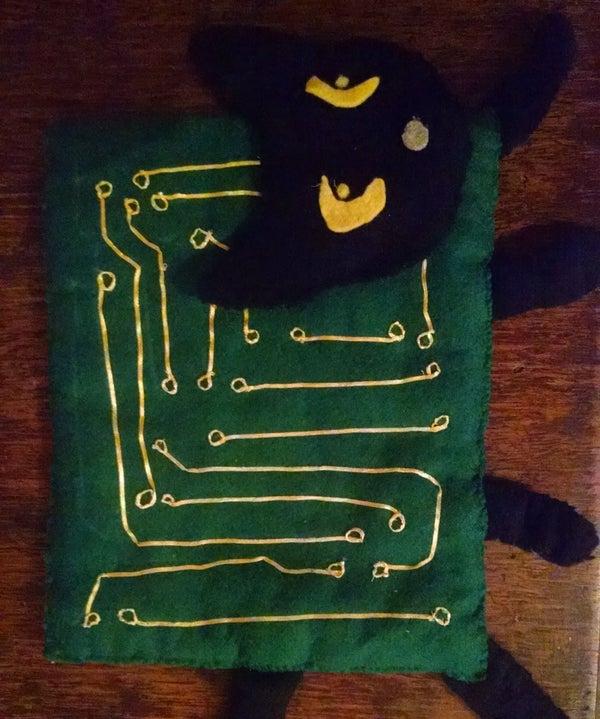 Peluche PCB Cat De Adafruit