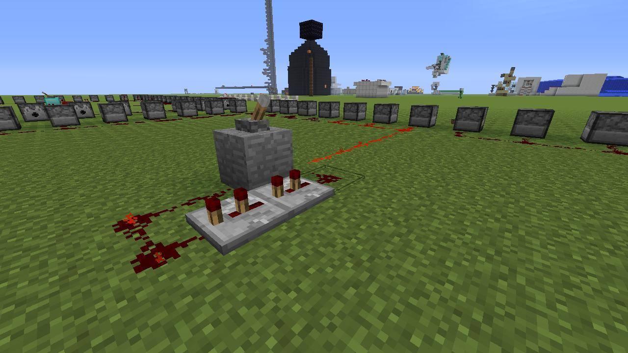 Minecraft Automatic Firework shooter