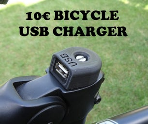 10€ BICYCLE USB CHARGER