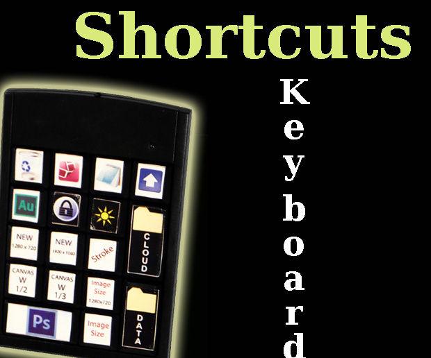 Simple Shortcuts Keyboard