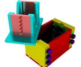Combination Puzzle Box 3D Print