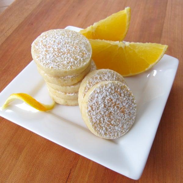Dreamsicle Meltaway Cookies