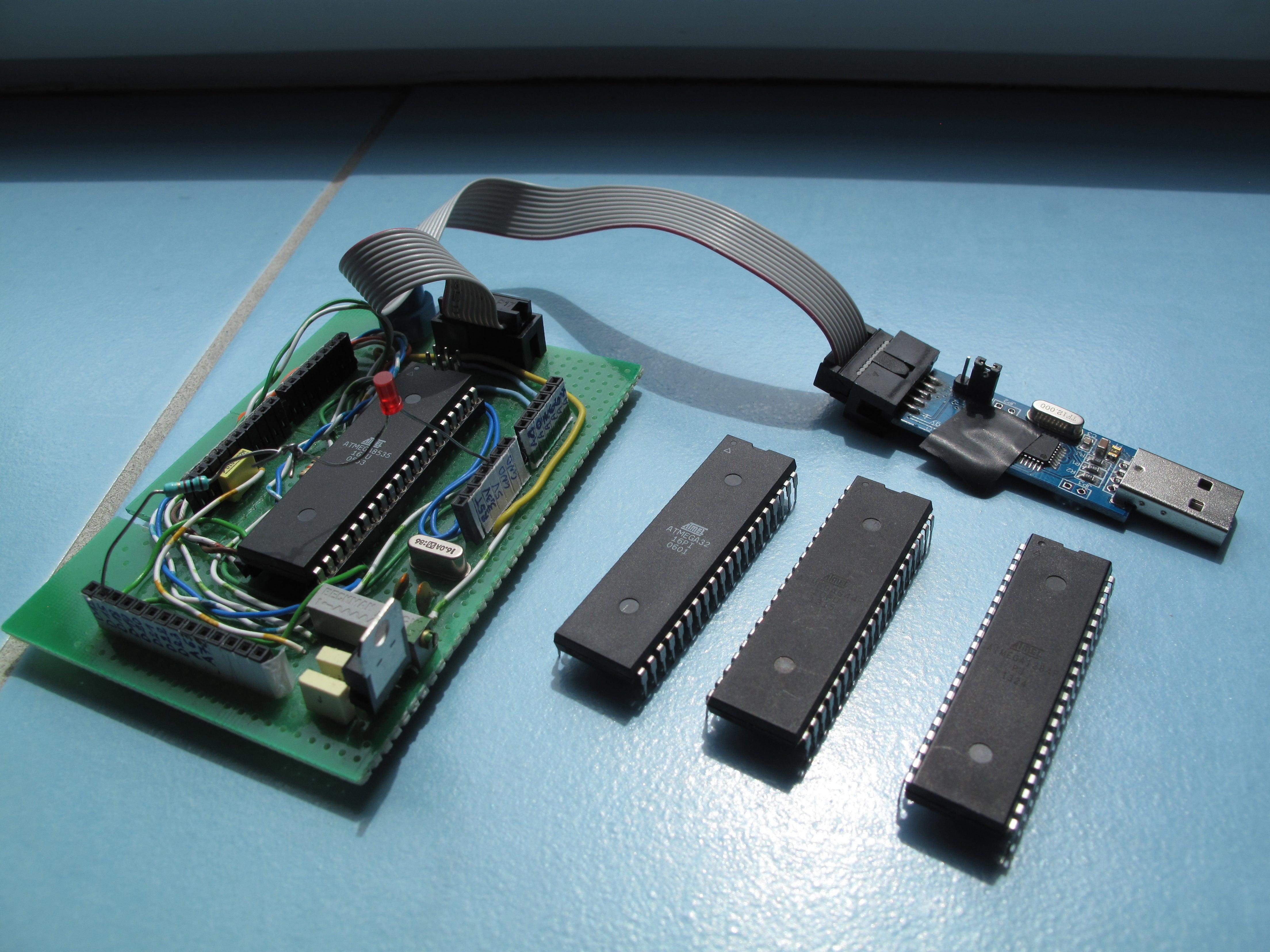 kit con 5v de voltaje estabilizador sanguino ATmega 1284-pu Arduino mcu#a933
