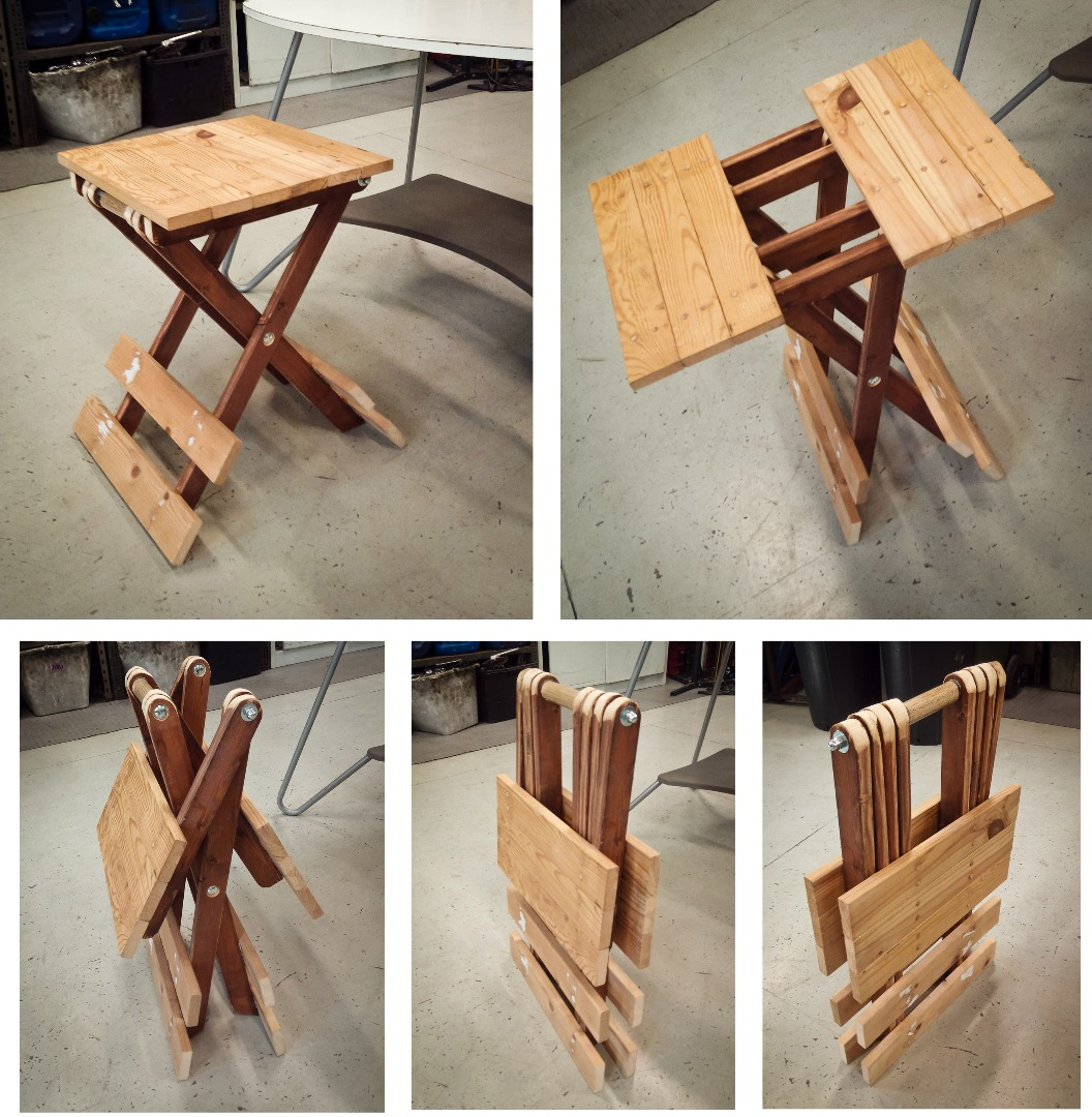 Small Folding Table Updated 10 Steps With Pictures Instructables