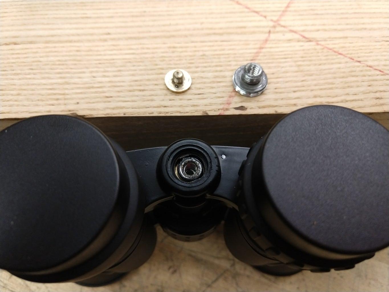 Remove the Eyepiece Focus Locknut