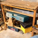 Workbench Modification/out Feed Support