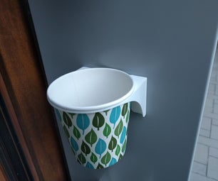 3D Printed Holder for IKEA FRÖER Flowerpot