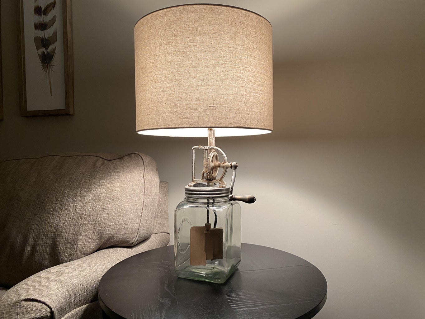 Churn Up the Modified Lamp