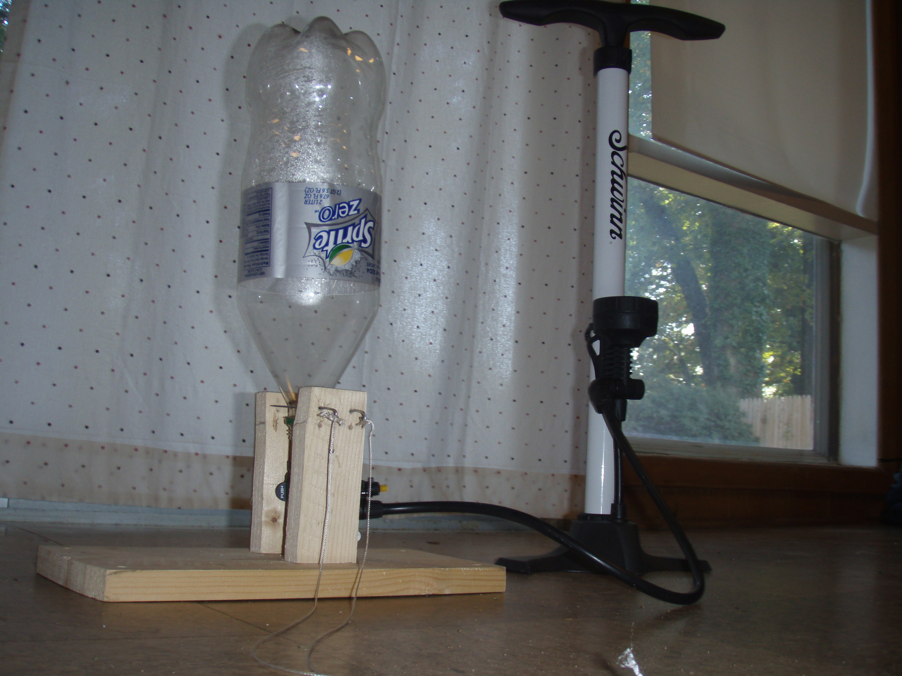 Homemade Water Rocket Launcher