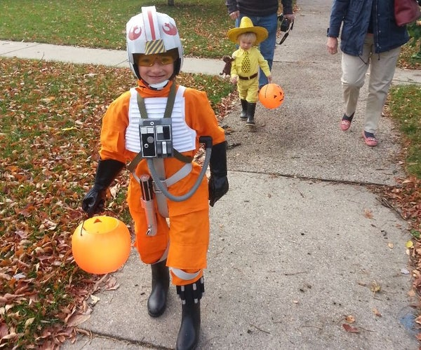 X-Wing Pilot (Red V) Kid's Costume