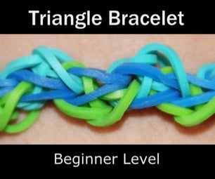Rainbow Loom Triangle Bracelet