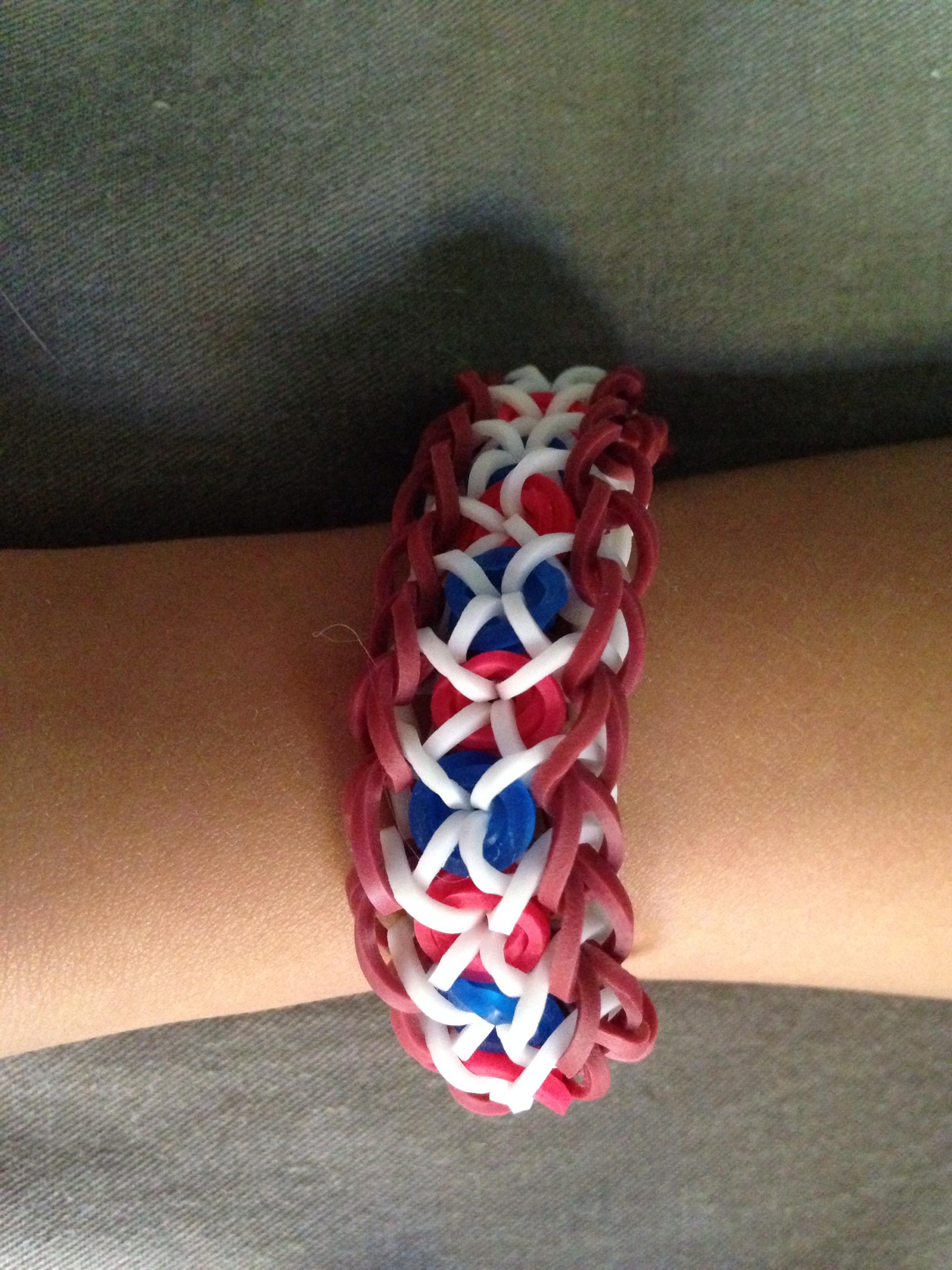 Confetti Criss-Cross Bracelet