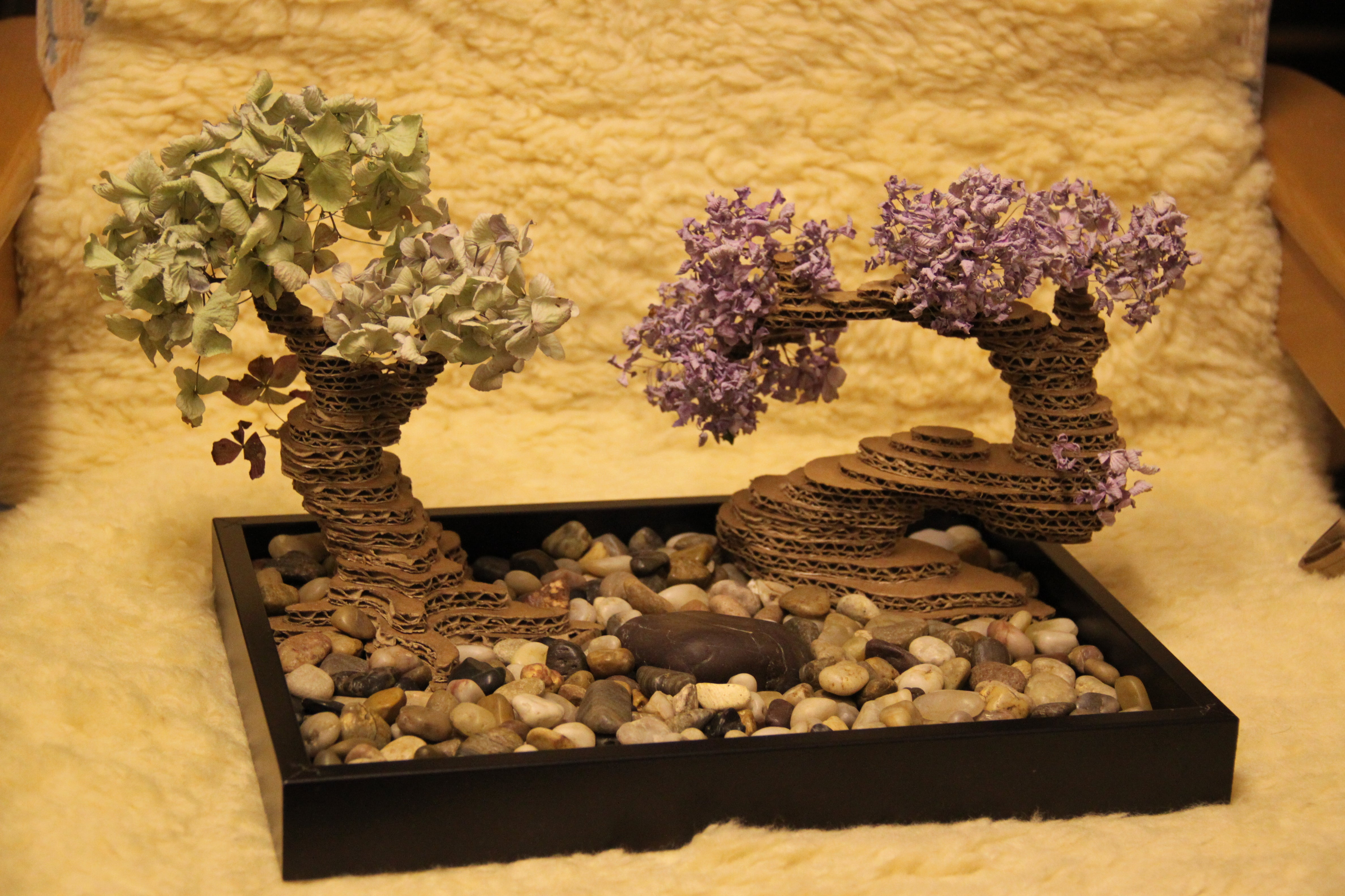Cardboard Bonsai Tree 5 Steps With Pictures Instructables