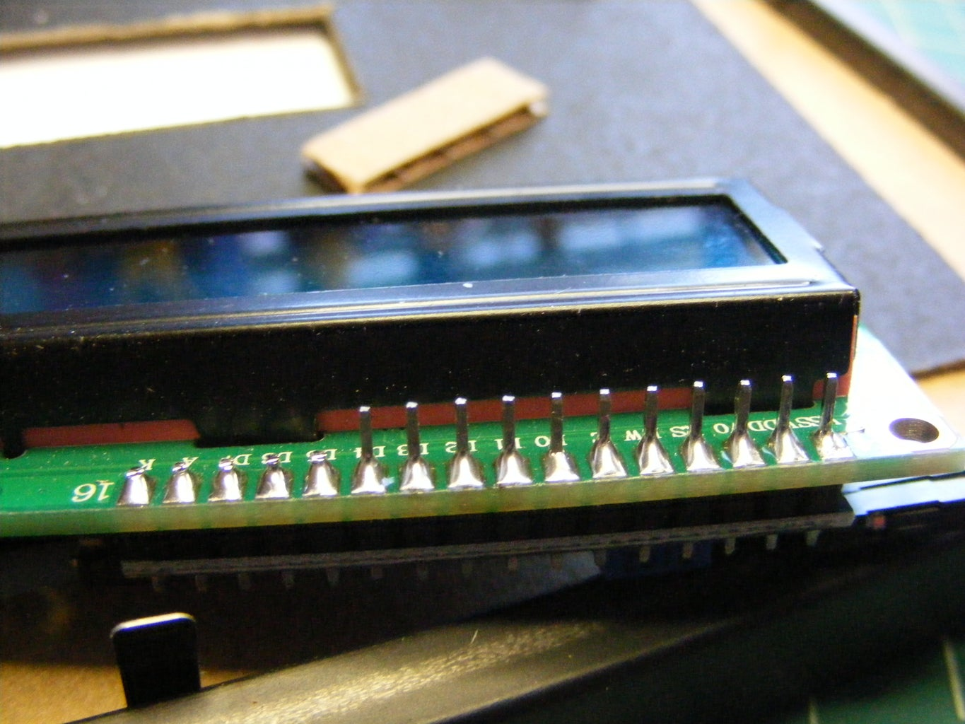 Modify Picture Frame and Final Assembly