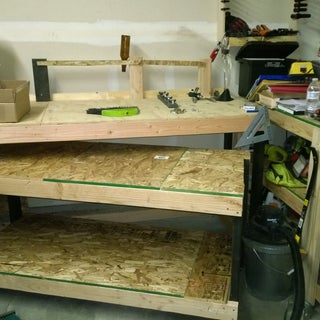 Workbench and Companion Worktable