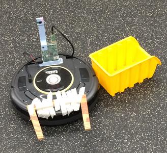 Roomba Bot the Bulider
