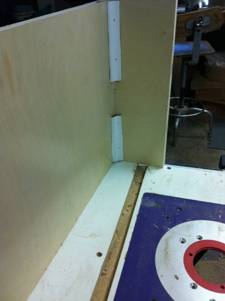 Gluing and Nailing Together