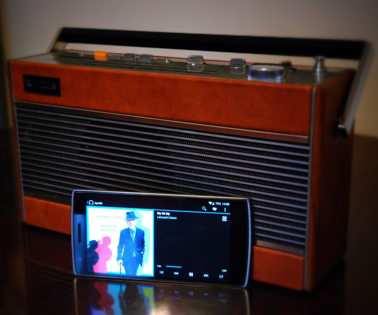Roberts 747 - DIY Raspberry Pi internet radio/streamer
