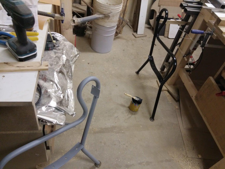 Grinding, Sanding, Painting - Metal