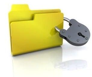 Folder Locker Using Notepad