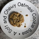 Soft and Chewy Oatmeal Cookie Base