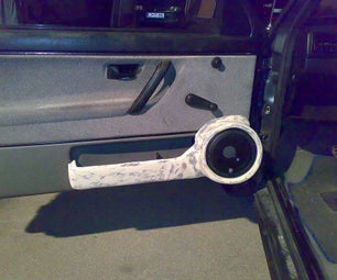 VW Golf MK2 Polyester Door Panels for Speakers