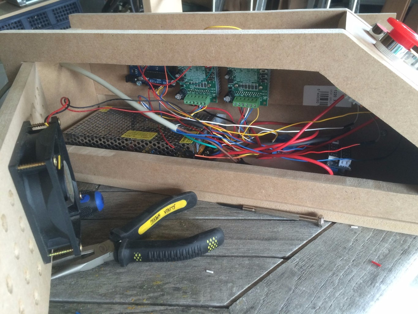 Put in the Electronics